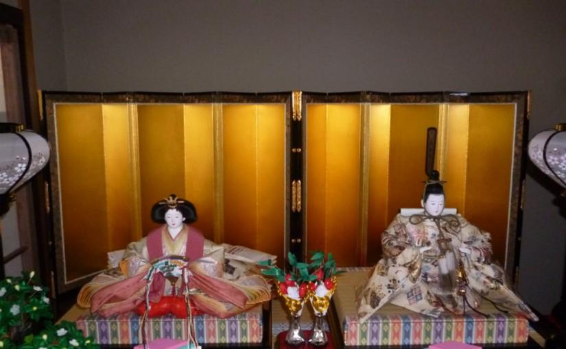 雛人形七段飾り、十五人飾りパート2屏風について、