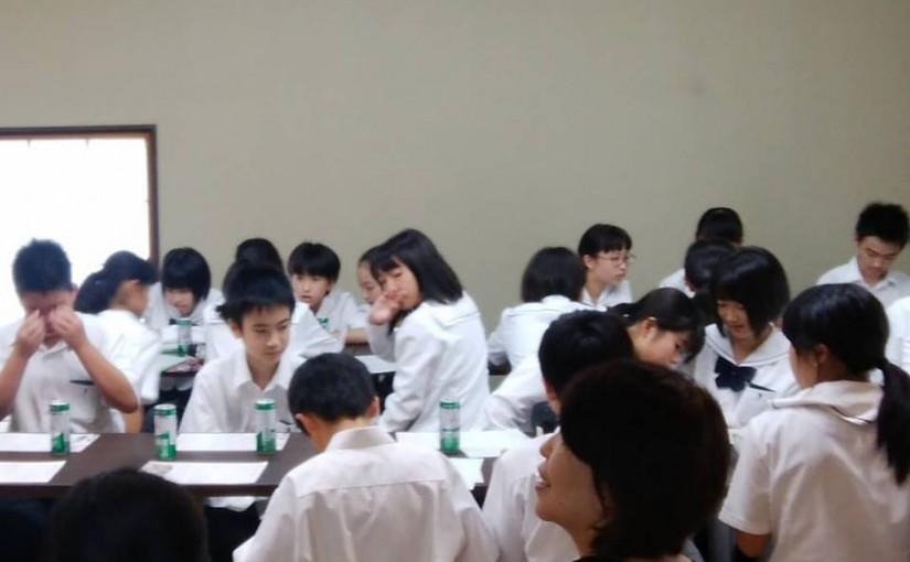 栃木県立佐野高等学校付属中学校教養講座感想文2