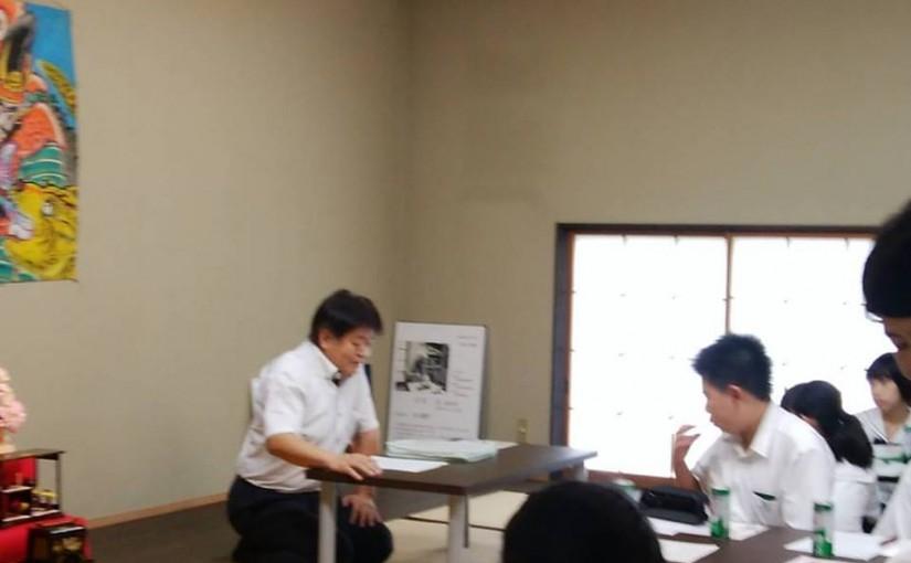 栃木県立佐野高等学校付属中学校教養講座感想文1